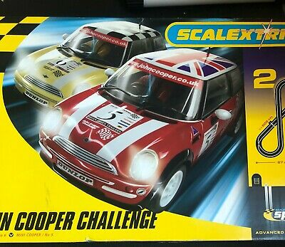 £31.97 • Buy Mini Cooper Scalextric Cars And Track