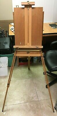 £101.67 • Buy MABEF M/22 Traveling Art Easel Wood Sketch Box Made In Italy Fully Adjustable