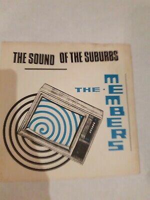"""£2 • Buy The Members The Sound Of The Suburbs UK 7""""  70's Punk"""