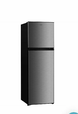 AU220 • Buy Euromaid 269L Stainless Steel Fridge With Top Mount Freezer - As New, 8 Mths Old