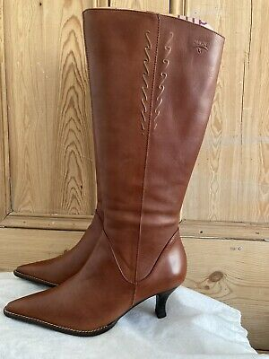 £19.99 • Buy Pikolinos Tan Leather Boots, Size 3/36 New