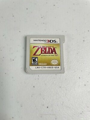 AU24.24 • Buy The Legend Of Zelda: Ocarina Of Time 3D (3DS, 2011) - Cartridge Only - TESTED