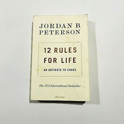 AU14.99 • Buy 12 Rules For Life Book By Jordan Peterson (Paperback)