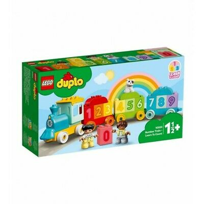 AU28.95 • Buy LEGO Duplo: Number Train - Learn To Count (10954)