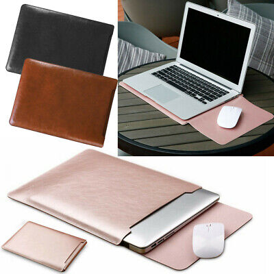 AU25.79 • Buy Universal Laptop Bag Leather Sleeve Case Comfortable Pouch For 13 Inch Notebook