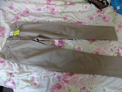 £3 • Buy George Boys Stone Coloured Trousers Age 13-14 Years New With Tags