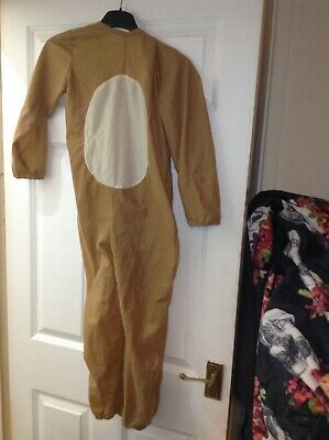 £1 • Buy Dress Up/Halloween Childs Lion Costume Size 7-8 Comes With Hat And Tail