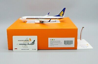 AU134.95 • Buy JC Wings 1:200 Singapore Airlines B737-800w 'Flaps Up' 9V-MGA Diecast Model