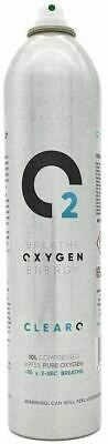 £9.99 • Buy ClearO2 Oxygen Can Pure Breathing -70 X 2-sec Breaths 10L - No Cap