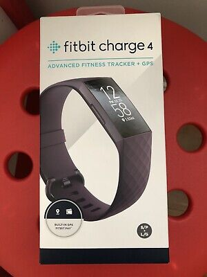 AU145 • Buy Fitbit Charge 4 Fitness Tracker - Rosewood