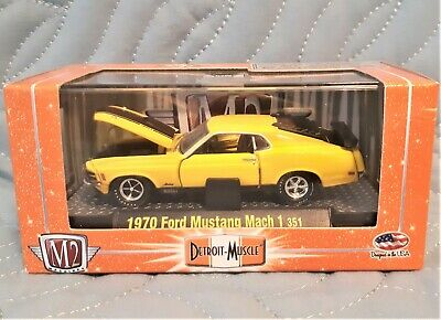 AU6.67 • Buy M2 Machines 1970 Ford Mustang Mach 1 351, Detroit-muscle Release 15, 2011 Mfg Yr