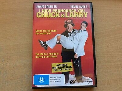 AU2.99 • Buy I Now Pronounce You Chuck And Larry Adam Sandler Kevin James (DVD, 2007) R4