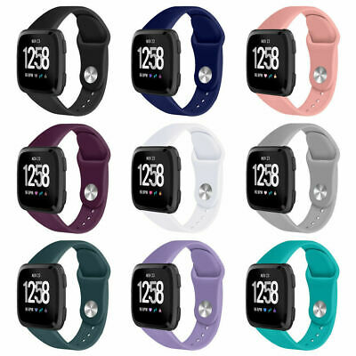 AU4.40 • Buy For Fitbit Blaze Versa 2 1 Lite Watch Strap Replacement Silicone Sports Band