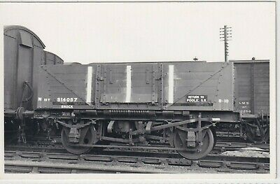 £1.10 • Buy Southern Railway 5 Plank Shock Wagon Number S14057 Rp Photo
