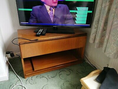 £20 • Buy Teak Wall Unit, TV Cabinet And Table And 4 Chairs