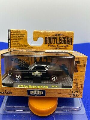 AU8.07 • Buy M2 Special Edition Bootlegger  1970 Ford Mustang Boss 302 HTF   Black