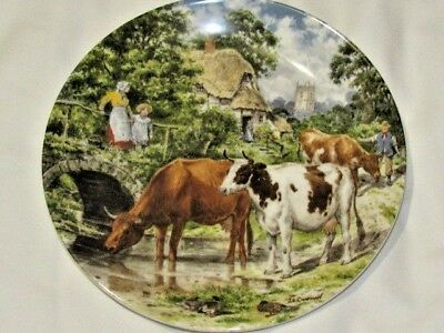 £7.99 • Buy Wedgwood Life On The Farm A Cooling Drink Ltd. Edition Collectors Plate 8 Inch