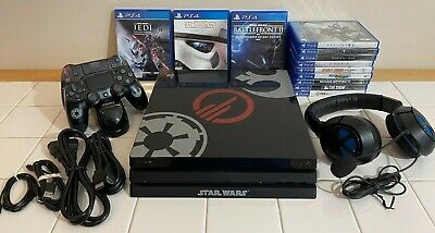 AU606.03 • Buy PlayStation 4 Pro 1TB PS4 Star Wars Battlefront II Console System W/12 Games