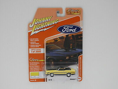 AU20.95 • Buy 1:64 1972 Ford Mustang Convertible (Medium Bright Yellow) - Johnny Lightning  Cl
