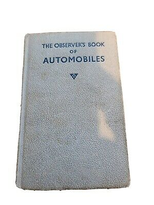 £0.99 • Buy The Observers Book Of Automobiles