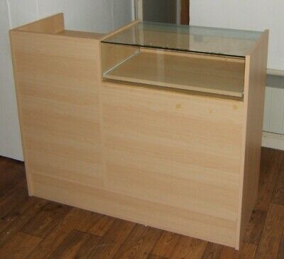 £99 • Buy Shop Counter - With Lockable Display Top And Cash Draw (please See Description)