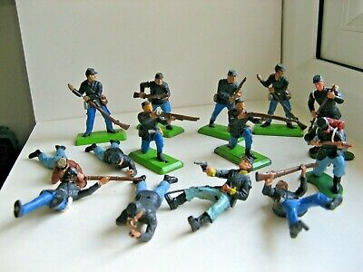 £13.45 • Buy Britains - Deetail - Acw Union/cavalry Soldiers For Spares Or Repairs.