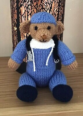 £6 • Buy Hand Made Teddy Bear Doctor In Scrubs Gift Wrapped Graduation Gift 6 In