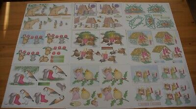 £10 • Buy Joanna Sheen House Mouse - Traditional Decoupage. Assorted 20 A4 Sheets