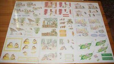£10 • Buy Joanna Sheen House Mouse Traditional Decoupage - 20 Assorted A4 Original Sheets