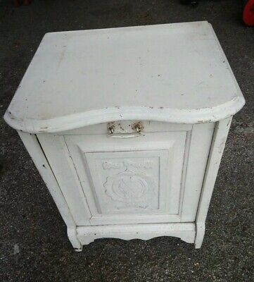 £10 • Buy VINTAGE Coal Scuttle Box / Bucket Fireplace Accessories