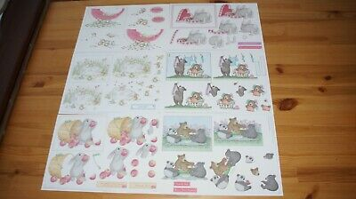 £10 • Buy Joanna Sheen House Mouse Traditional Decoupage - 20 Assorted Original A4 Sheets