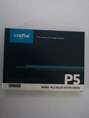 £75 • Buy Crucial P5 1tb 1000gb NVMe M.2 SSD Solid State Drive  1 TB