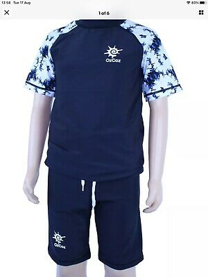 £6.99 • Buy Ozcoz Swim Protection Top And Bottoms Sun Safe Factor 50+   Age 12 Years BNWT