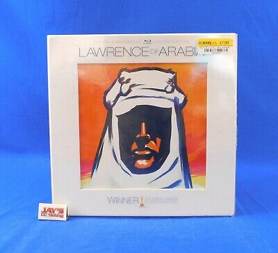 £7.26 • Buy Lawrence Of Arabia Fiftieth Anniversary Limited Edition Blu-Ray Box Set Complete