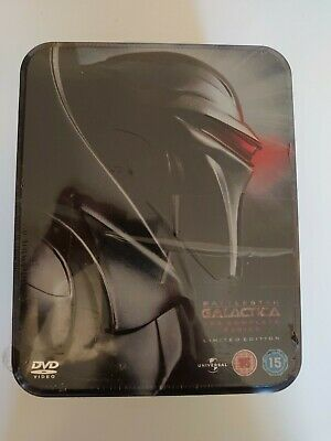 £69 • Buy Battlestar Galactica - The Complete Series (DVD, 2009, 25-Discs) Limited Edition