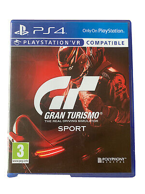 £6.50 • Buy PS4 Gran Turismo The Real Driving Simulator Sport. PlayStation VR Compatible.