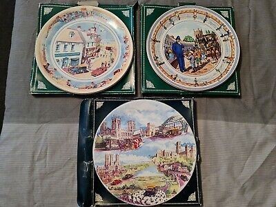 £2.99 • Buy Ringtons Collectors Plates Seaside Days, Street Games, The Heritage Plate