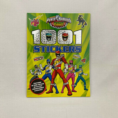£1.99 • Buy Power Rangers Dino Charge 1001 Stickers By Autumn Publishing Ltd (Paperback 2015