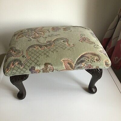 £12.99 • Buy A Small Foot Stool With Queen Anne Style Legs