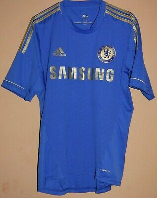£21.02 • Buy Chelsea Home Football Jersey Shirt 2012  Adidas  Mens Size M