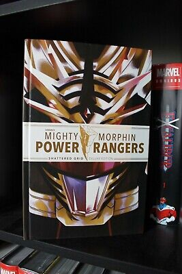£50 • Buy Mighty Morphin Power Rangers Shattered Grid Deluxe Edition Hardcover Boom MMPR!