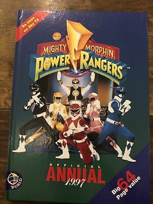 £9.99 • Buy Might Morphing Power Rangers 1997 Annual 90s Nostalgia