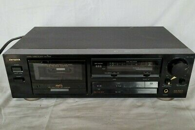 £24.99 • Buy Aiwa AD-F410 Stereo Cassette Deck With Dolby B/C & HX-Pro Noise Reduction HI Fi