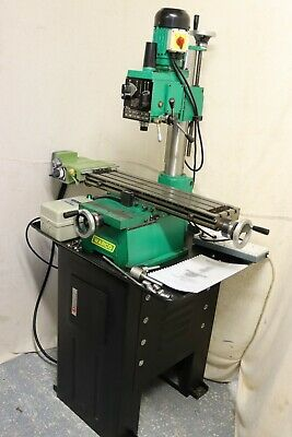 £1465 • Buy Warco Clone Of Emco FB-2 Coordinate Milling And Drilling Machine With Power Feed