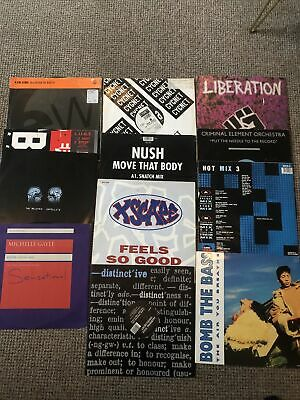 £9 • Buy Collection Of 12 Old Skool Vinyl Records