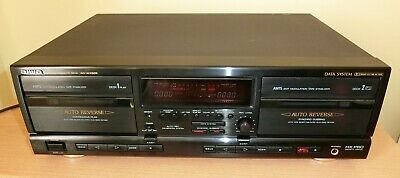 £92 • Buy Aiwa AD-WX828 Dual Well Cassette Deck (Serviced)