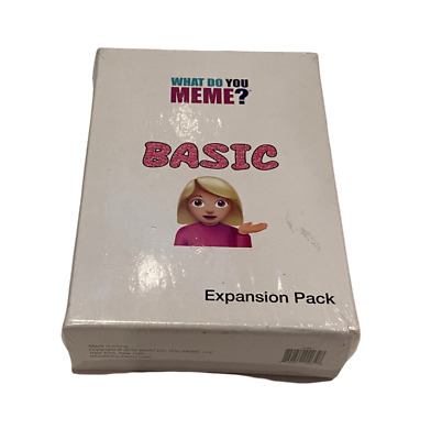 AU19.17 • Buy What Do You Meme? Basic Expansion Pack New