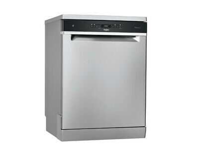 View Details Whirlpool WFO3O41PLXUK 14 Place Stainless Steel Dishwasher • 499£