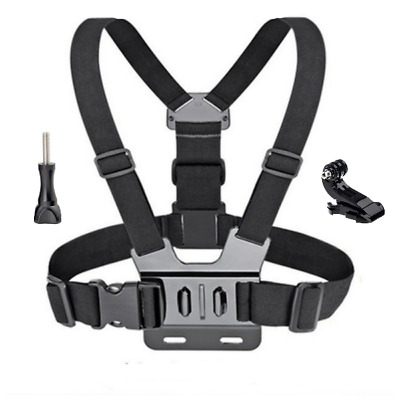 AU16.48 • Buy Chesty Strap Mount Harness For GoPro Hero, Session, DJI Osmo Action Cameras