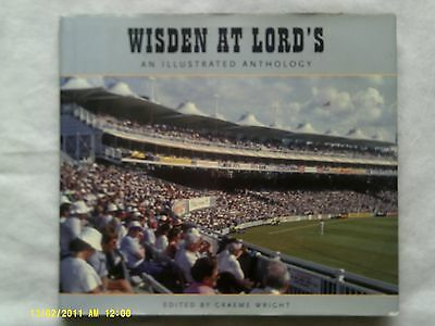 £4 • Buy Wisden At Lord's An Illustrated Anthology By Graeme Wright (hardback Book)